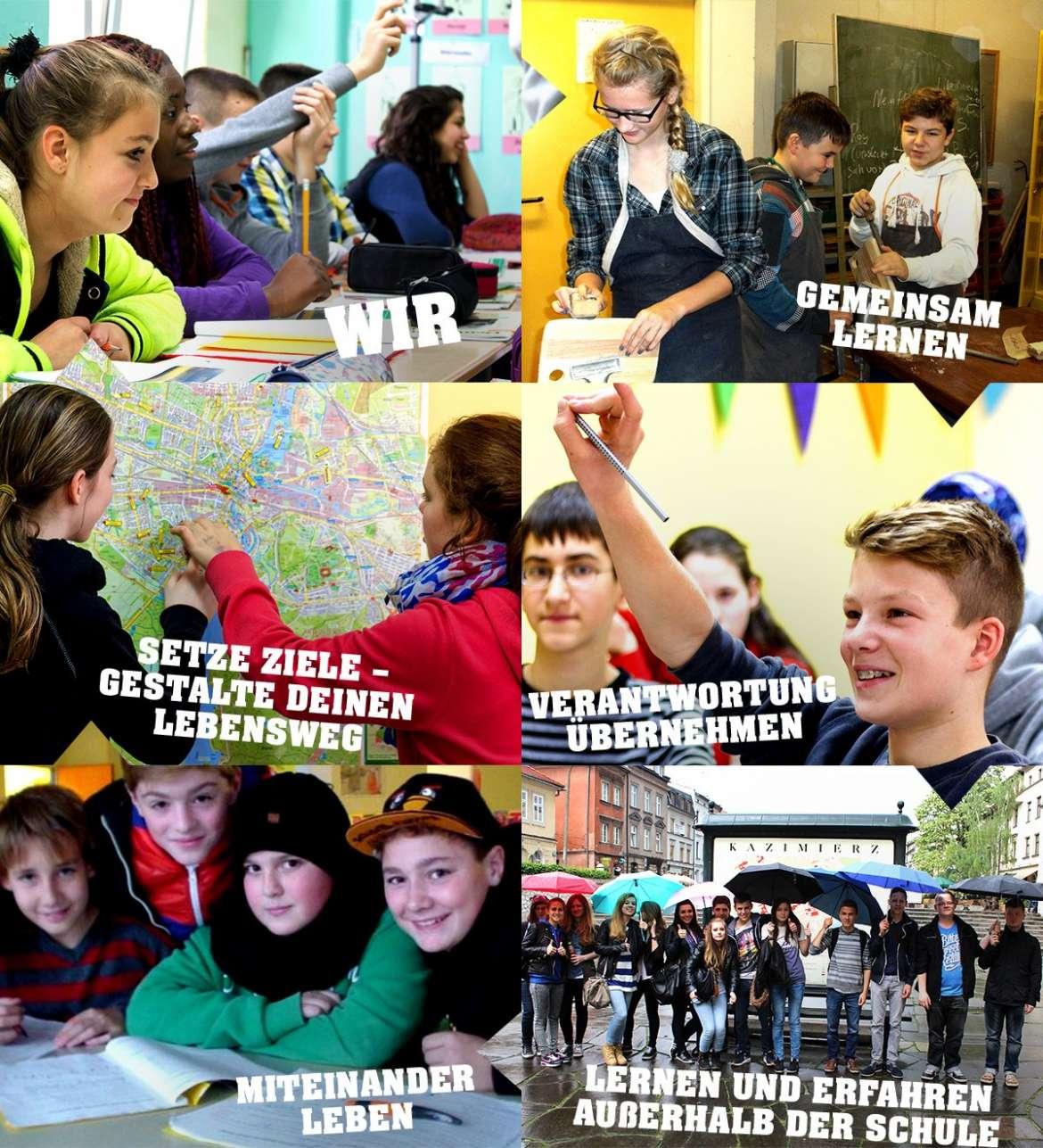 Bertolt-Brecht-Oberschule in wenigen Bildern